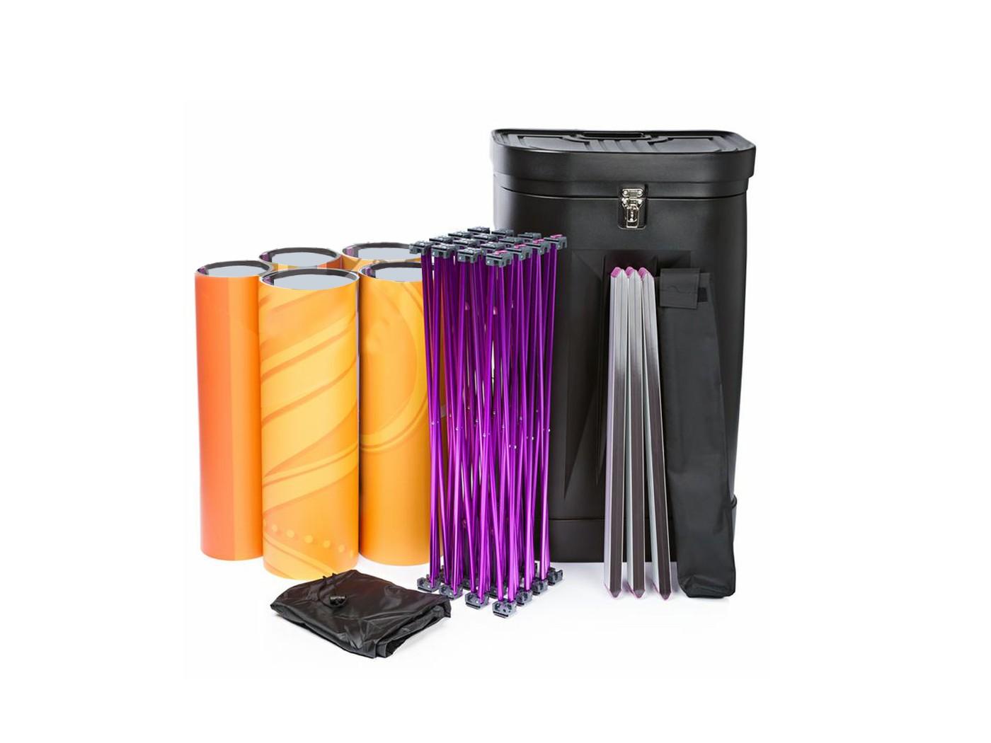 Expocom stand parapluie droit simple ou double face for Montage stand parapluie